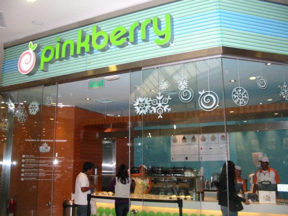 pinkberry real plaza - Pinkberry inauguró moderno local en Real Plaza Salaverry