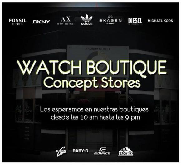 watch boutique peru retail1 - Watch Boutique apuesta por un mix comercial entre Casio y Fossil