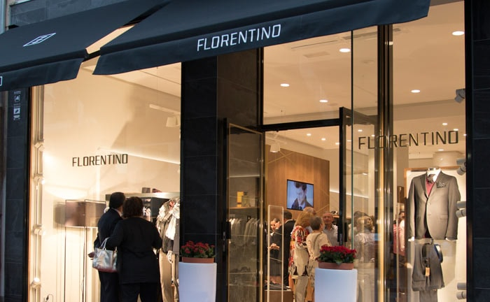 1 florentino - Marca de moda masculina Florentino evalúa ingresar a Perú