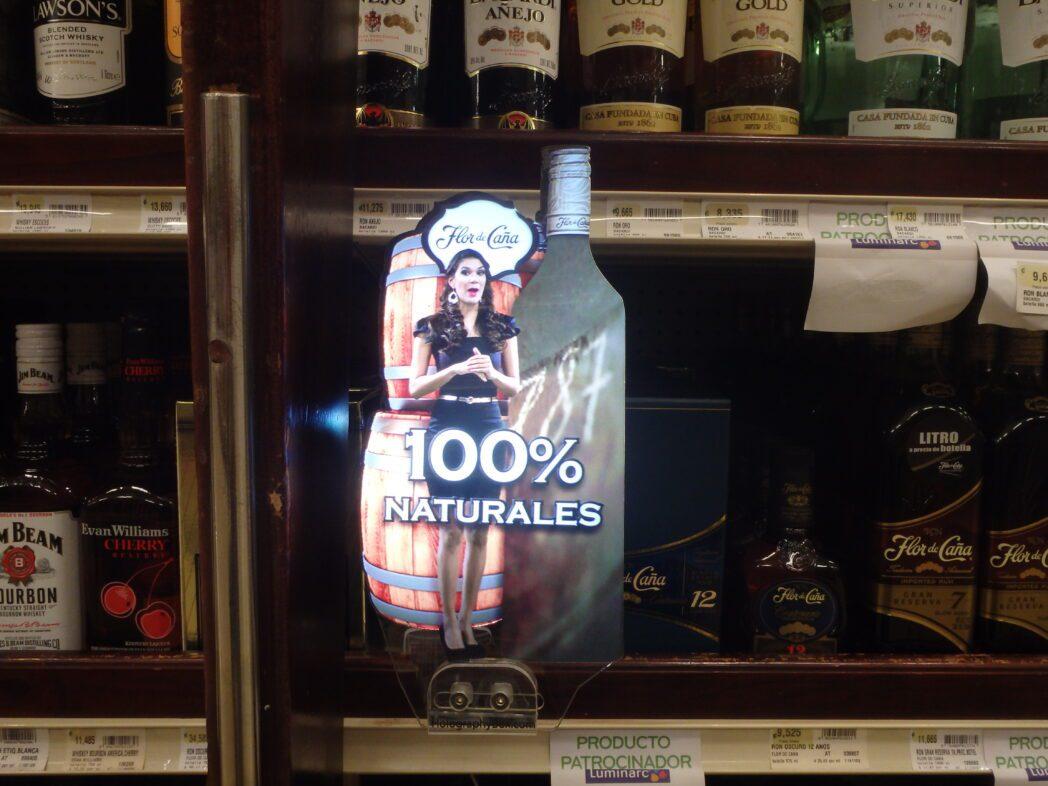 Holograma de GBM - Hologramas revolucionan la forma de hacer publicidad en supermercados