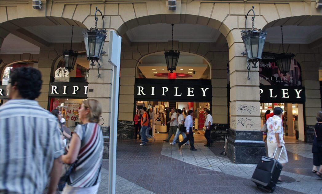 RIPLEY -  TIENDA - RETAIL - FACHADA     Ahumada  16.03.009   Fachada Ripley de Ahumada con Agustinas Ximena Navarro Ximena Navarro