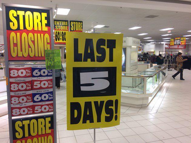 2018 sears lastday - Minoristas cerrarán más tiendas este año en Estados Unidos