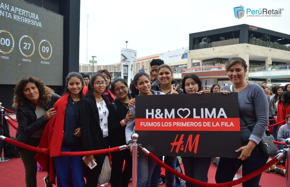 3 - H&M recibió 2000 personas en su día de apertura en MegaPlaza