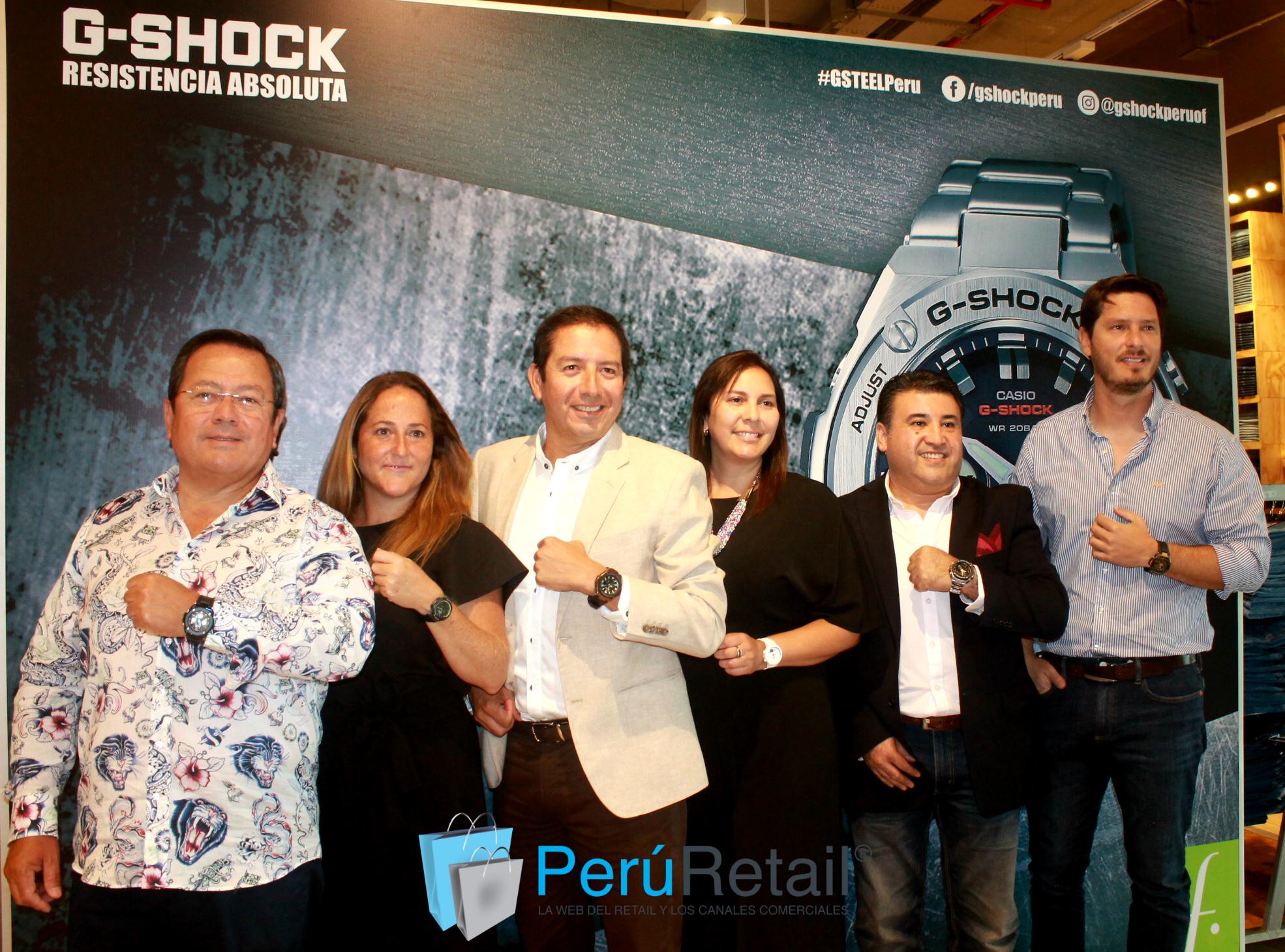 4571 Peru Retail - G-SHOCK presenta nueva línea de relojes en Perú