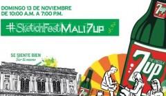 7up 2 240x140 - 7Up y MALI traen por segunda vez su festival artístico 'SketchFest'