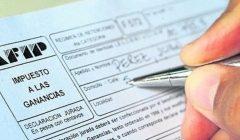 Ley de impuestos a las ganancias en Argentina