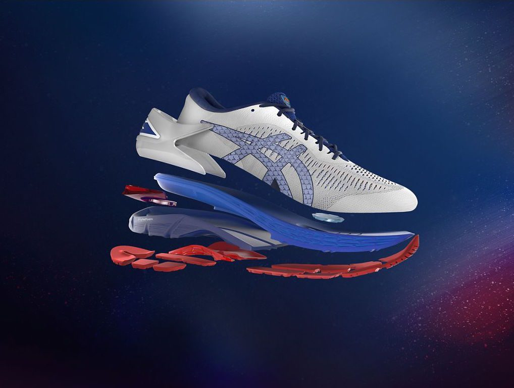 AW18 Kayano25 KeyVisual Product Side Exploded 1280x1280JPG - Asics renueva sus zapatillas Gel-Kayano a nivel mundial