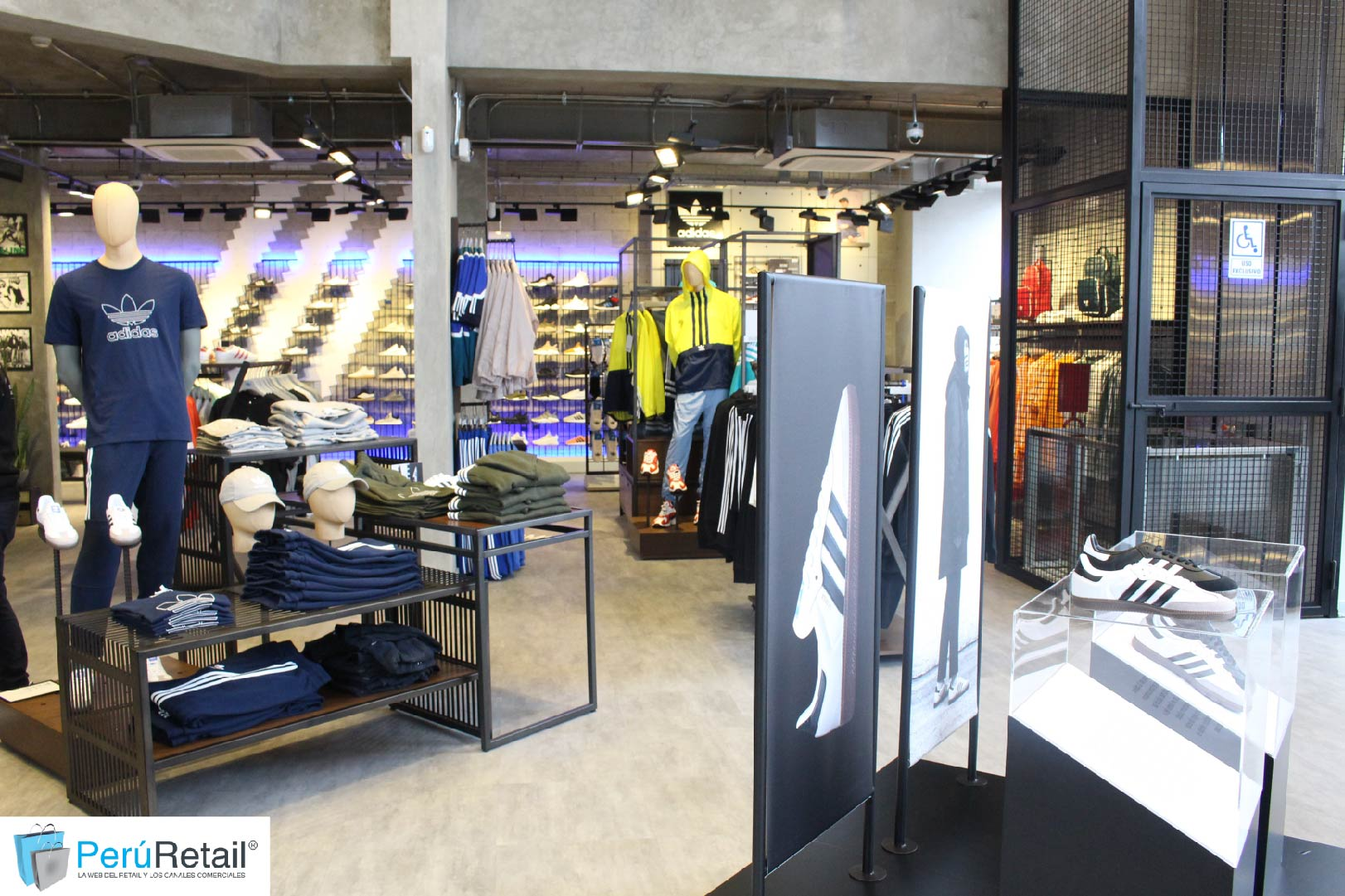 Adidas 2 2 - Perú: Adidas Originals abre su primera tienda Fashion Destination Door