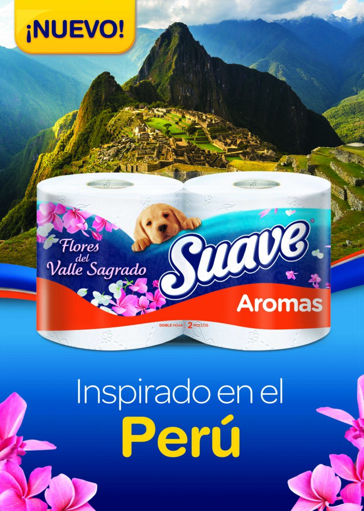 Afiche Suave Armani PERU 2019 Final Final 731x1024 - Kimberly-Clark lanzó nuevo papel higiénico Suave con fragancias inspiradas en flores del Perú