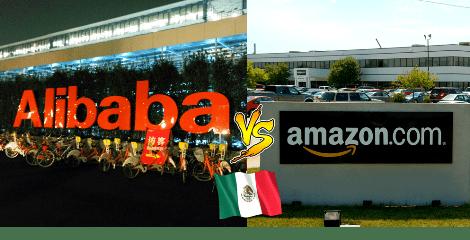 Alibaba competirá con Amazon por el mercado online de México.