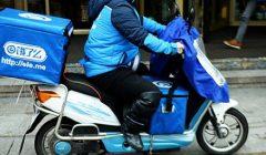 Alibaba envio de comida a domicilio