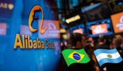Alibaba interesado en Brasil y Argentina