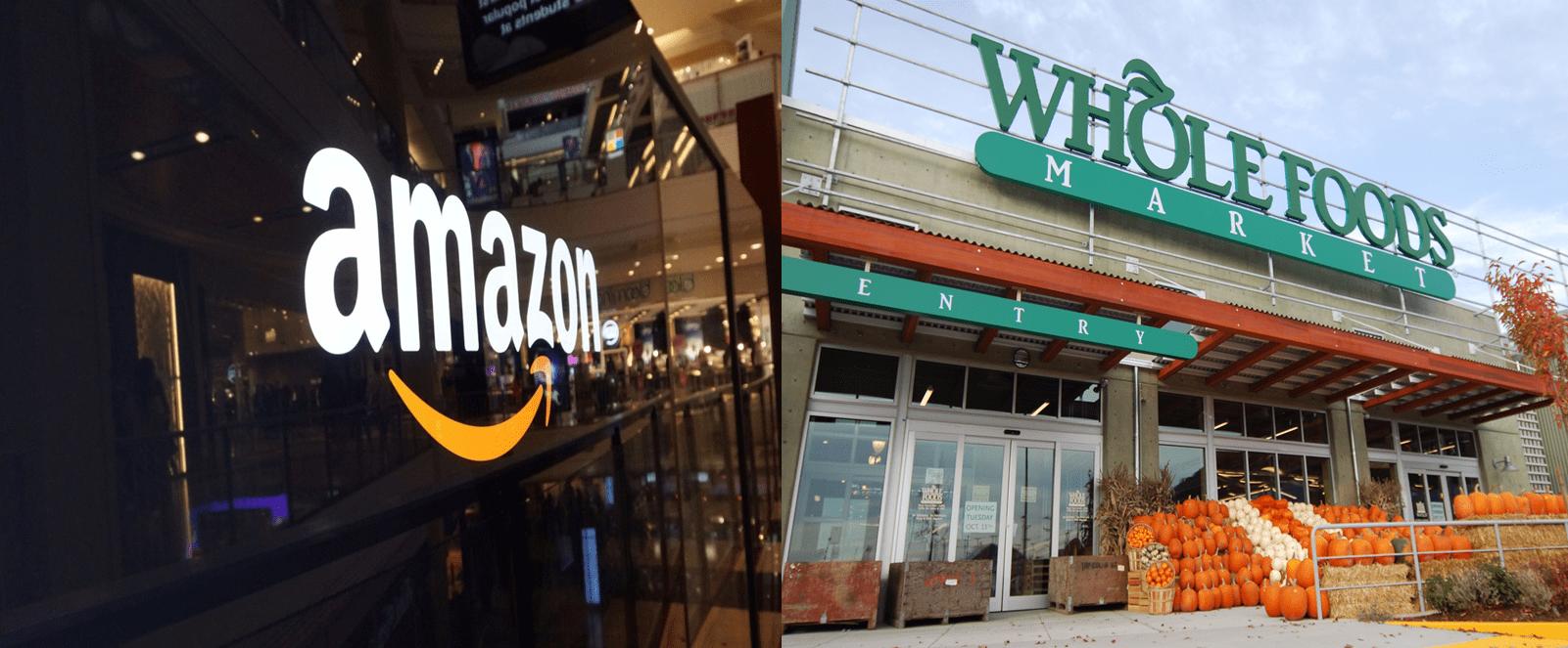 Amazon Whole Foods2 - Whole Foods aumentó su tráfico un 25% luego de ser adquirido por Amazon