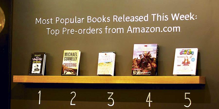 Amazon abrió su primera librería física en Estados Unidos(4)
