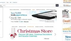 Amazon christmas 240x140 - Amazon vendió más que los principales retailers norteamericanos en Navidad