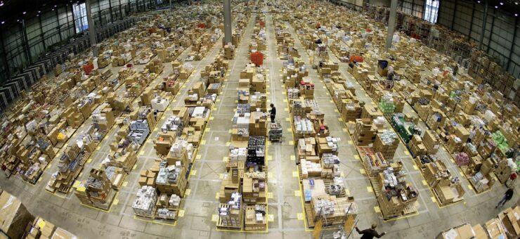 Amazon crece aceleradamente