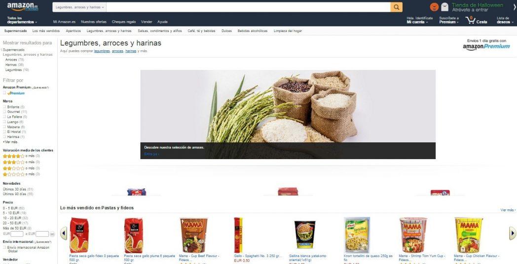 Amazon quiere arrasar con los supermercados tradicionales