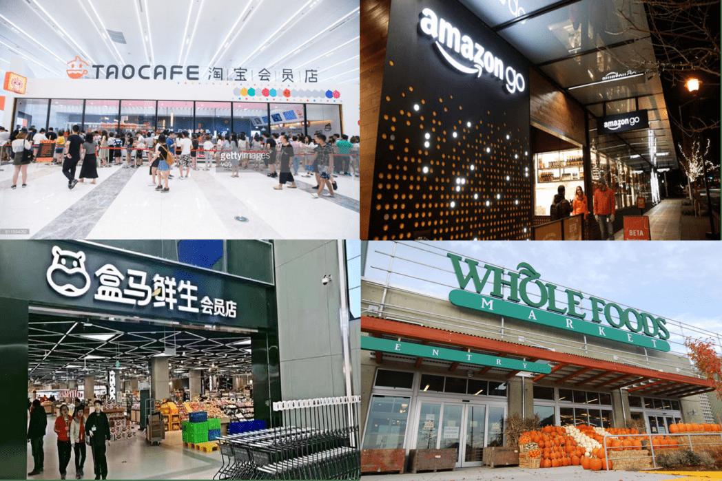 Amazon y Alibaba