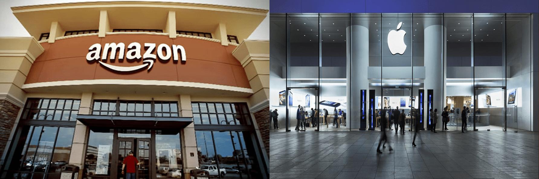 Amazon y Apple