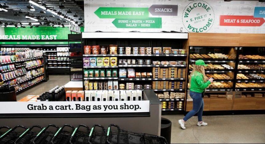 Amazon1 1 - Amazon expande su presencia y abre un supermercado sin cajeros
