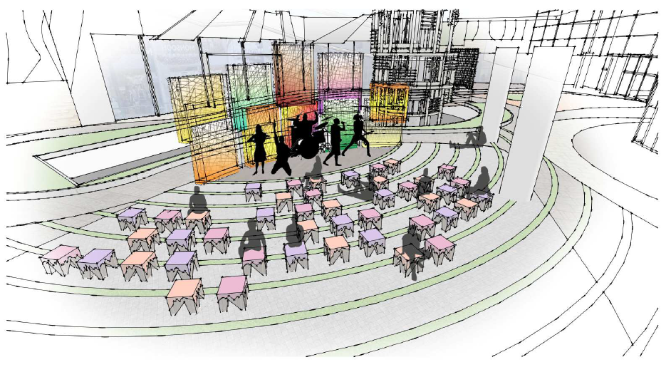 Anfiteatro 1 - Mall Aventura de Santa Anita construye moderno anfiteatro