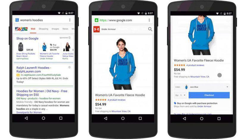 Aplicaciones de Google aumentarían ventas de comercios minoristas