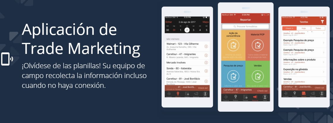 Sistema para Trade Marketing