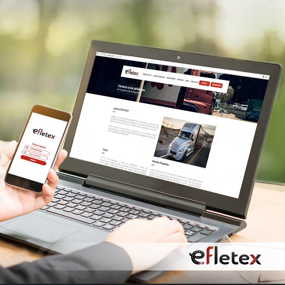 App Efletex - Logística: Efletex lanza la primera APP de este rubro en Perú