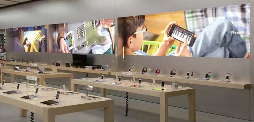 Apple-Store Nueva-decoración