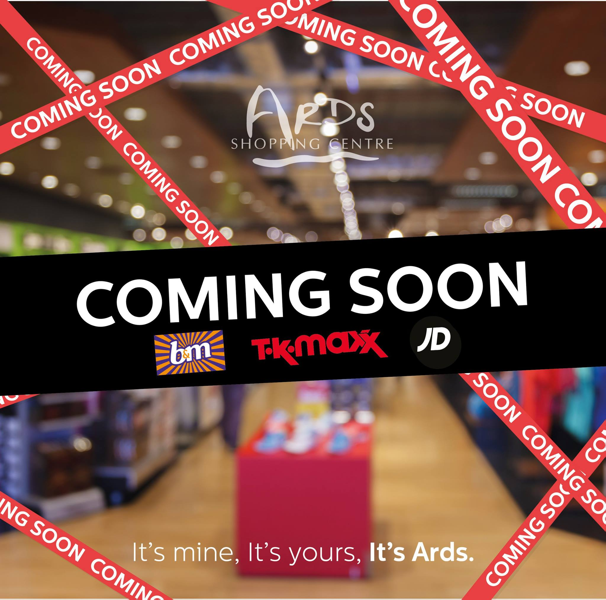 Ards Shopping Centre - Ards Shopping Centre recibirá a TK Maxx, B&M Bargains y JD Sports