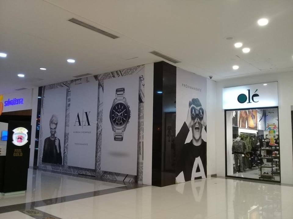 Armani Exchange Bolivia - Armani Exchange abrirá su primera tienda en Bolivia