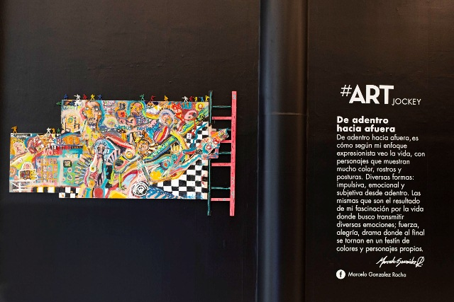 Art Jockey 10 - Jockey Plaza: El arte urbano se apodera del centro comercial