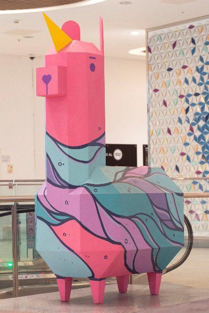 Art Jockey 7 - Jockey Plaza: El arte urbano se apodera del centro comercial