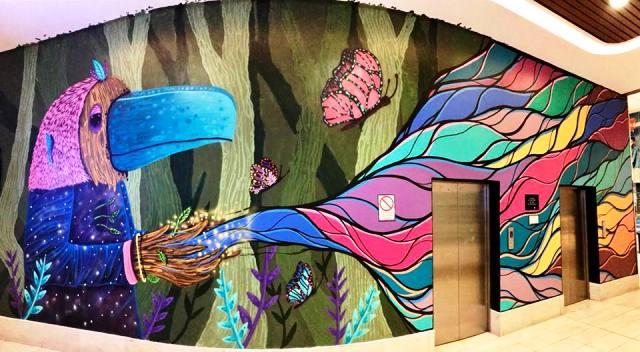 Art Jockey 8 - Jockey Plaza: El arte urbano se apodera del centro comercial