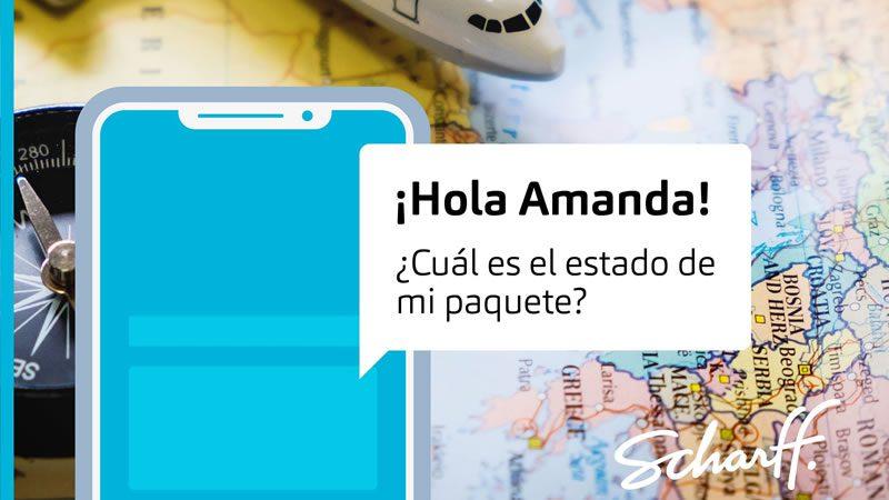Asistente virtual Amanda - Conoce más de la primera asistente virtual de logística en Bolivia