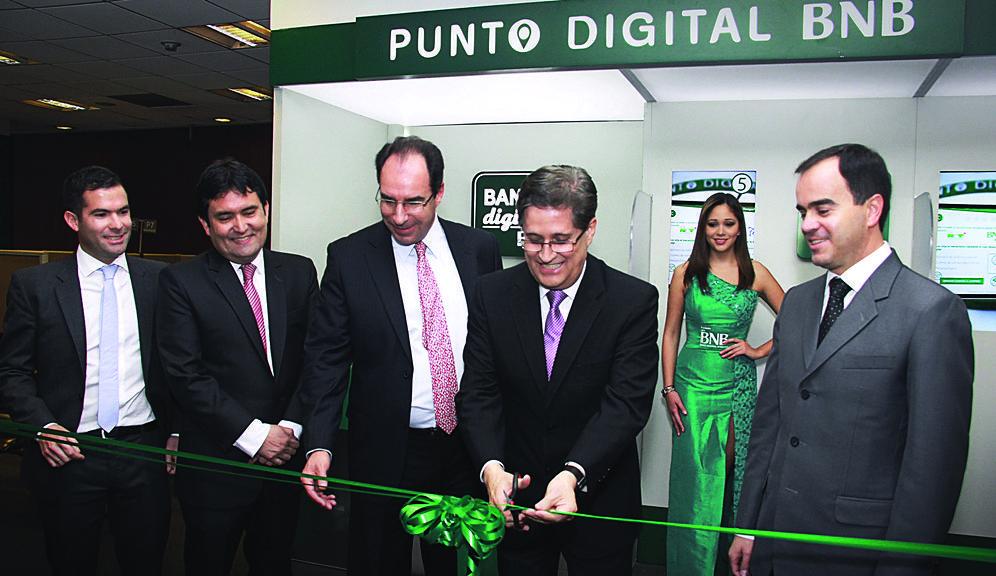 BNB - Banco Nacional de Bolivia abre su primera agencia de experiencia digital
