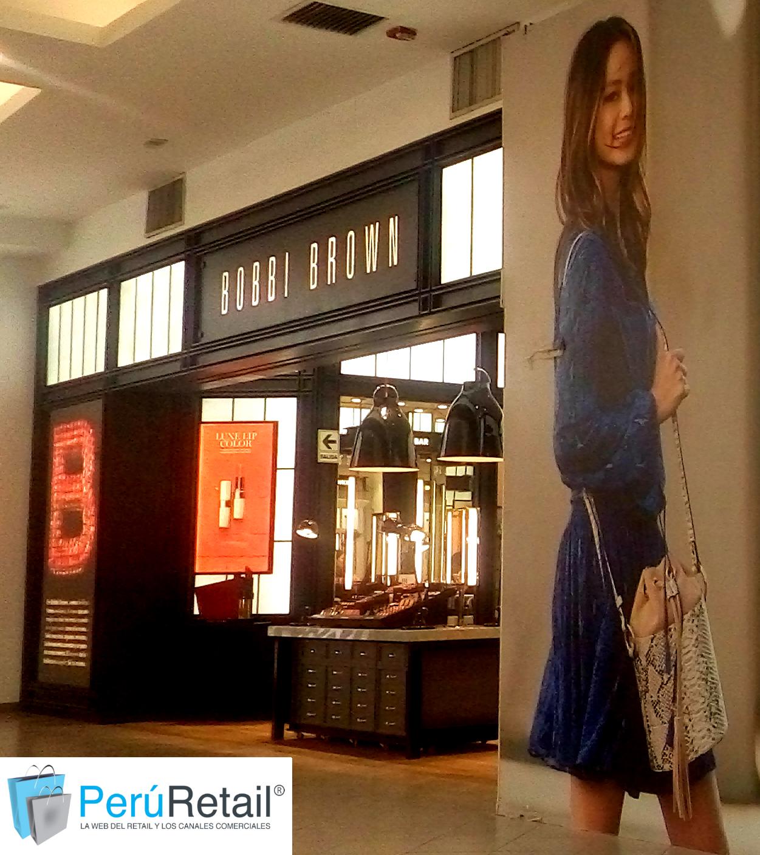BOBBI BROWN 2 PERU RETAIL - Bobbi Brown analiza expansión en centros comerciales de Lima