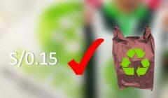 BOLSAS orgánicas Perú retail 240x140 - Este es el supermercado que ofrece bolsas compostables en vez de bolsas de plástico
