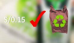 BOLSAS orgánicas Perú retail 248x144 - Este es el supermercado que ofrece bolsas compostables en vez de bolsas de plástico