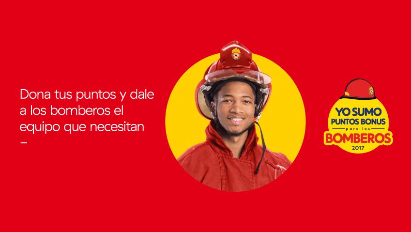 BONUS BOMBEROS - Bonus lanza campaña a favor de los bomberos del Perú