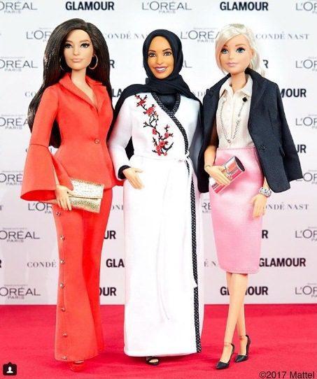 Barbie con velo 3 - Mattel lanza su primera Barbie con velo islámico