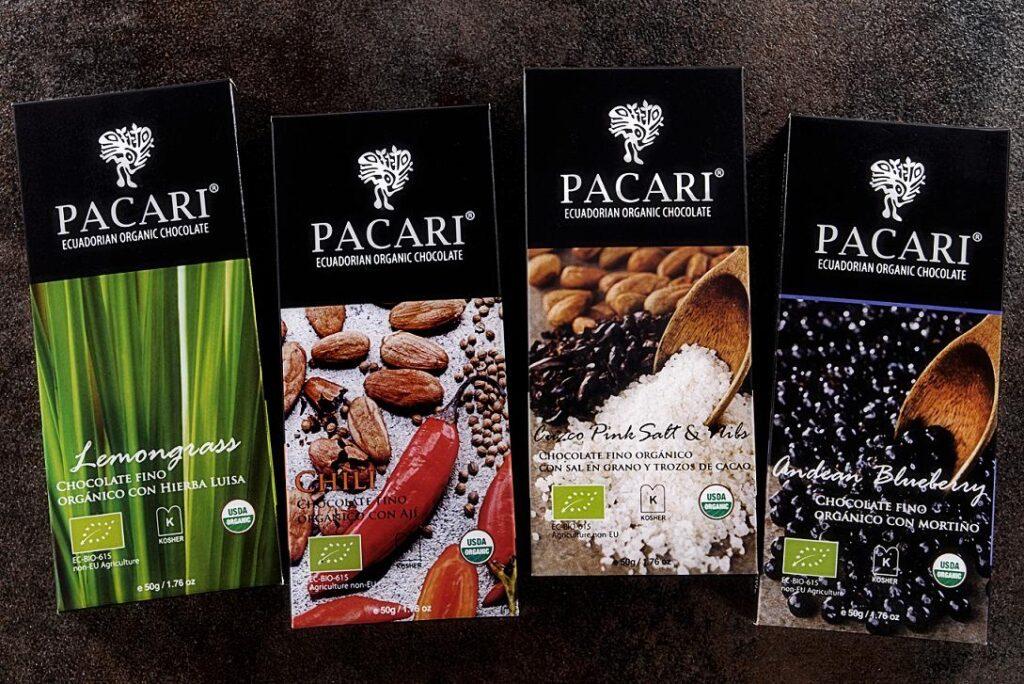 Barras de Chocolate Pacari 1024x684 - Empresa chocolatera Pacari abre las puertas de su primera tienda en Ecuador