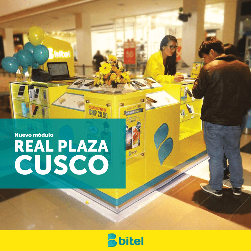 Bitel Real Plaza Cusco