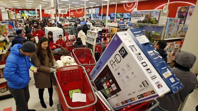 Black Friday 1 - Black Friday 2018: Consumidores estadounidenses desafían el frío y largas colas para aprovechar ofertas