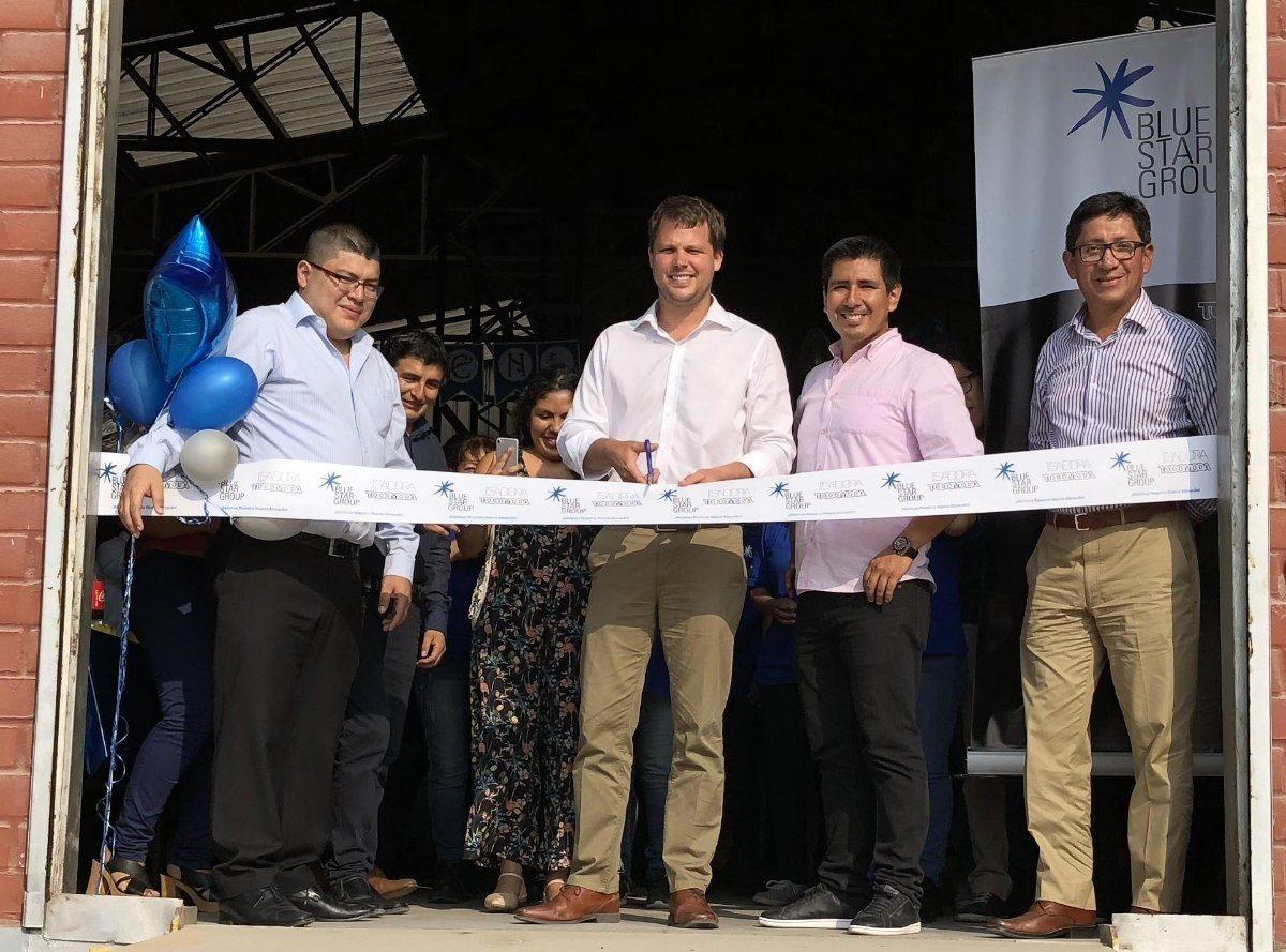 Blue Star Group - Blue Star Group inauguró un nuevo centro logístico en Perú