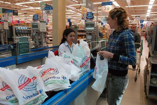 Bolsas supermercados