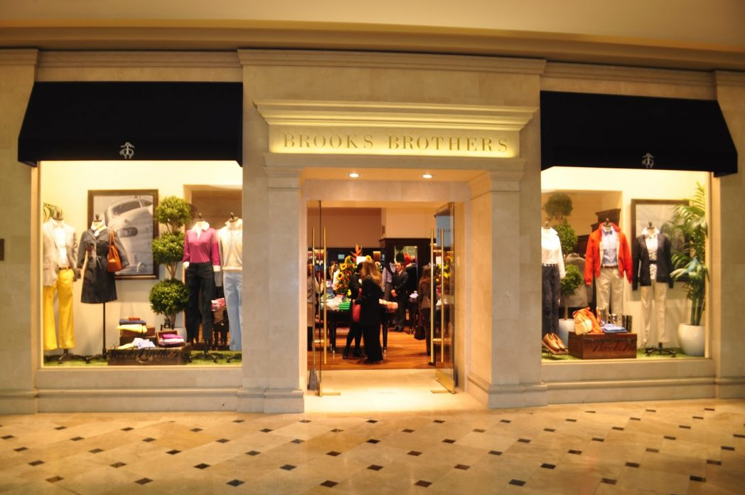 Brooks Brothers planea abrir en 2 años hasta 10 tiendas en China