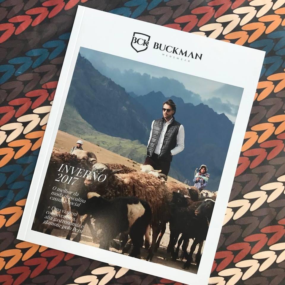 Buckman Promperu 4 - Firma brasileña Buckman exhibe prendas y paisajes peruanos en sus vitrinas