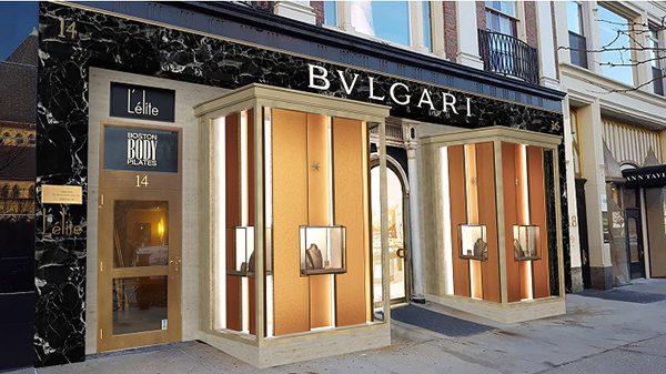 Bulgari Newbury Street - México: Marcas de lujo continúan expandiéndose en centros comerciales