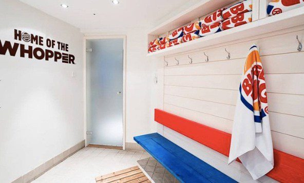 Burger King Spa2 - Burger King abrió un restaurante sauna en Finlandia